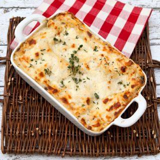Truffled Mushroom Lasagna