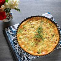 Broccoli, Pancetta & Pecorino Cheese Crustless Quiche