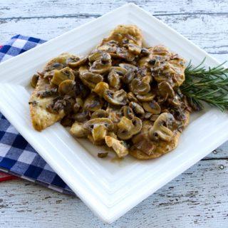 Chicken Mushroom Marsala