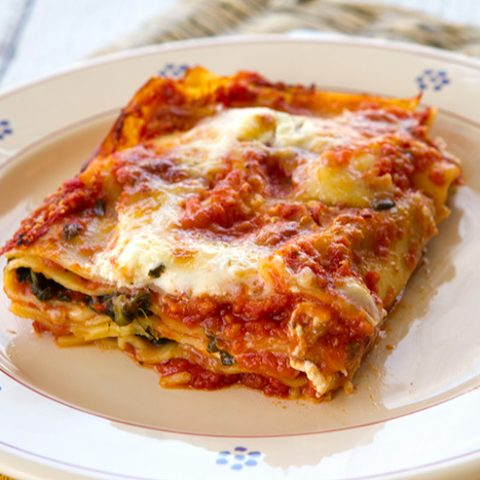 Spinach & Goat Cheese Lasagna