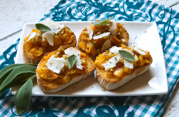 A fall inspired appetizer perfect for holiday entertaining.