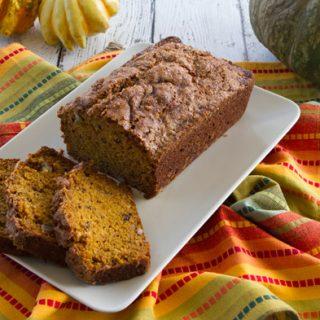 Roasted Pumpkin & Walnut Bread