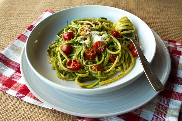 Zucchini ribbon noodles recipe