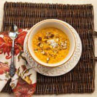 Creamy Carrot Risotto
