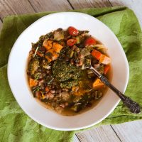 Kitchen Sink Minestrone