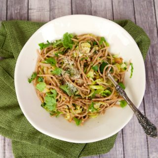 Brussels Sprouts & Guanciale Pasta