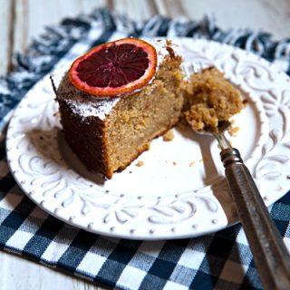 Spelt Blood Orange Snack Cake