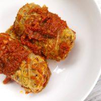 Barley & Lentil Stuffed Cabbage Rolls