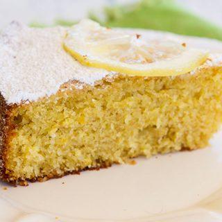 Lemon Almond Cake {Dolce di Amalfi}