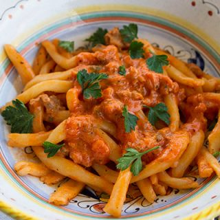 Creamy, Spicy Sausage Pasta Sauce