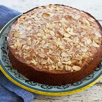 Applesauce Honey Cake