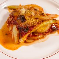 Fennel Parmesan {Finocchi alla Parmigiana}