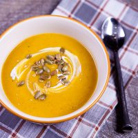Butternut Squash, Sweet Potato, & Ginger Soup {Immune Boosting}