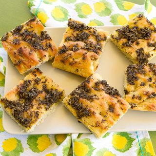 Focaccia With Black Truffle Topping