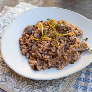 Osso Buco Risotto With Red Wine