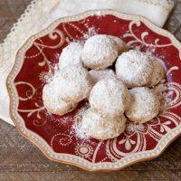 Roasted Hazelnut & Dark Chocolate Kiss Cookies