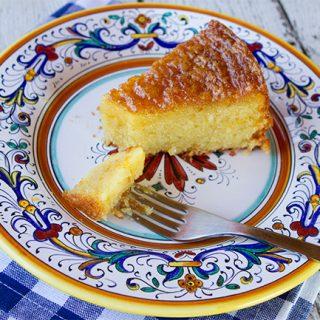 Grapefruit Almond Cake {Gluten Free}