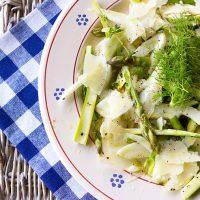 Fennel And Asparagus Salad With Citrus Vinaigrette