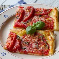 Rustic Summer Tomato Tart