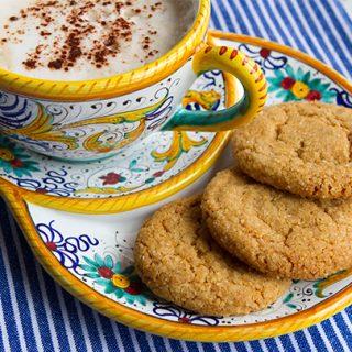 Double Ginger Cookies
