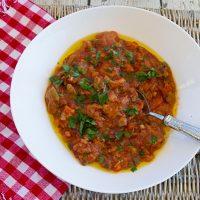 Porcini & Tomato Bread Soup