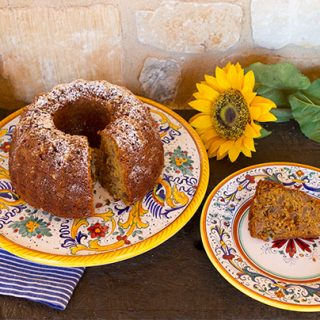 Spiced Pumpkin Apple Cake
