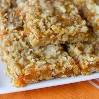 Pumpkin Spice Jam Bars