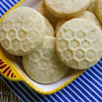 Lemon Thyme Butter Cookies
