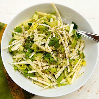 Celery Root & Green Apple Salad