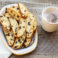 Dried Cherry and Pistacchio Biscotti