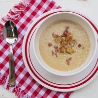 40 Garlic Clove Soup {For Colds & Flu}