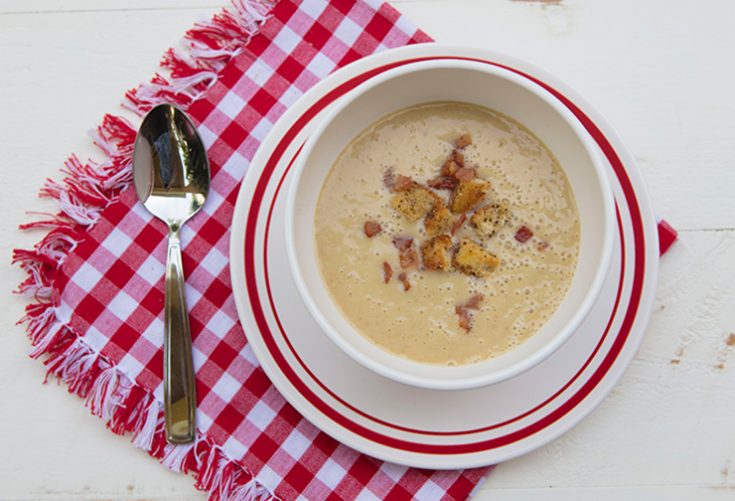 A rich and creamy immune boosting soup.
