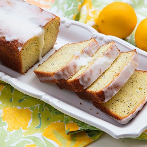 Meyer Lemon Poppy Seed Loaf