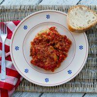 Artichoke Parmesan {Parmigiana alla Carciofi}