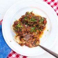 Italian Beef Short Ribs