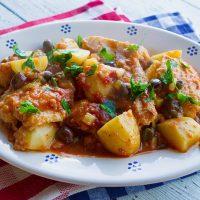 Baccala Stew {Salted Cod Stew}