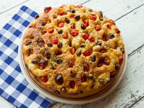 Focaccia Barese Focaccia From Bari Italian Food Forever