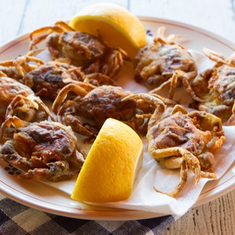 Moleche ~ Fried Soft Shell Crabs