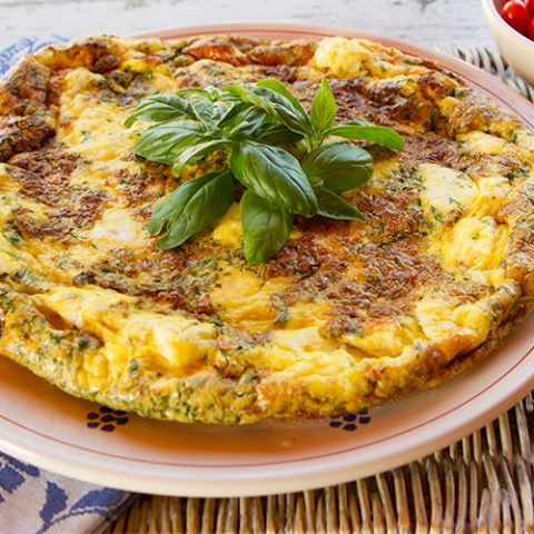 Herb and Ricotta Cheese Frittata