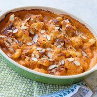 Cauliflower In Roasted Tomato Bechamel