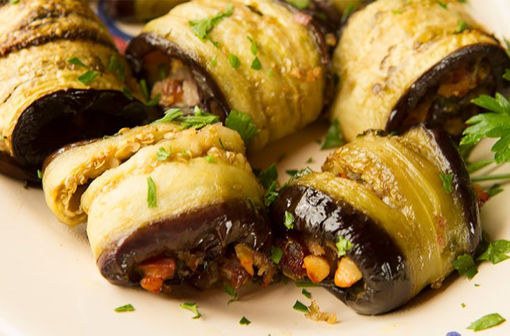 A Sicilian style of preparing eggplants.