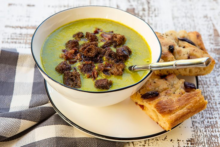 A delicious, creamy, immune boosting soup to enjoy throughout the colder months.