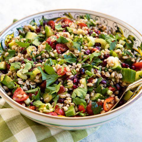Hearty Detox Farro Salad