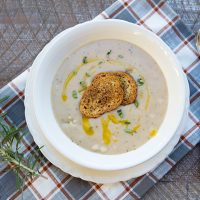 Creamy Cannellini & Rosemary Soup