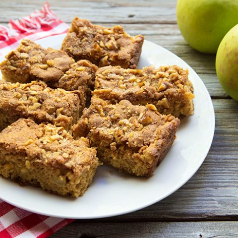 Einkorn Apple & Cinnamon Bars