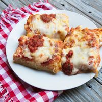 Deep Dish Detroit Style Pizza (Buddy's Copycat Recipe)