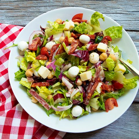 Italian Chopped Salad Revisited