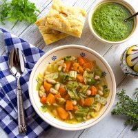Olive Harvest Soup ~ Zuppa Frantoiana