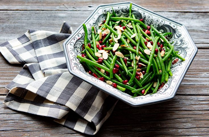An easy holiday side dish that looks as good as it tastes!