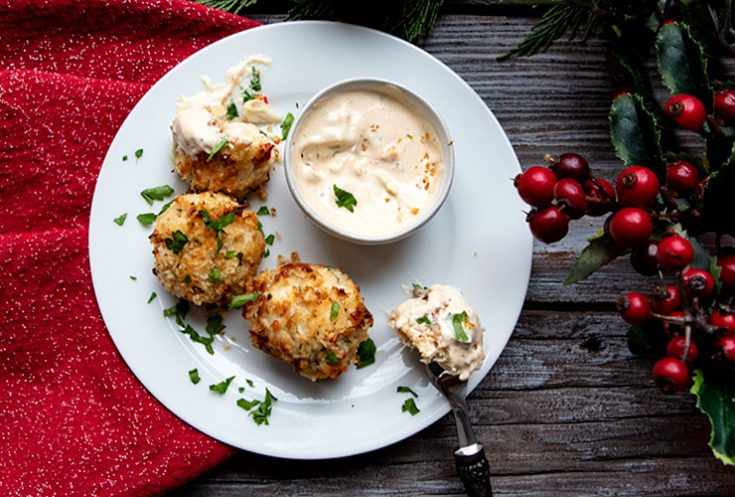 Crispy on the outside, tender on the inside, these crab poppers will be a hit at any gathering.
